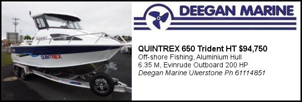 Deegan Quintrex Trident